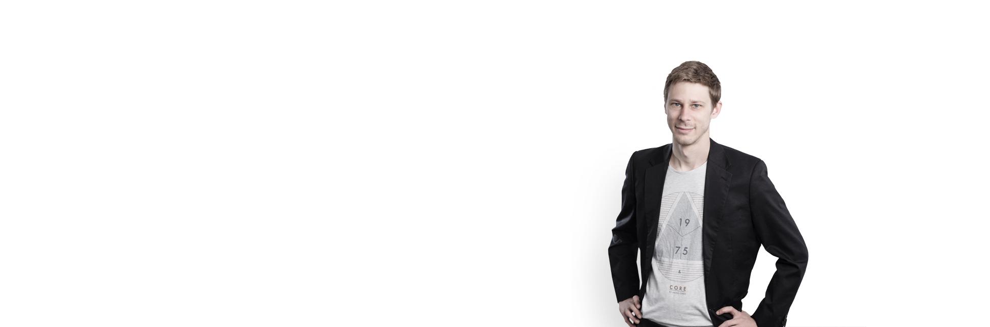 Header Portraitseite mit Daniel Schoch