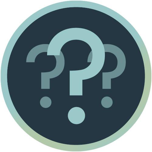 Icon für Fragen stellen und Kick-off-Meeting