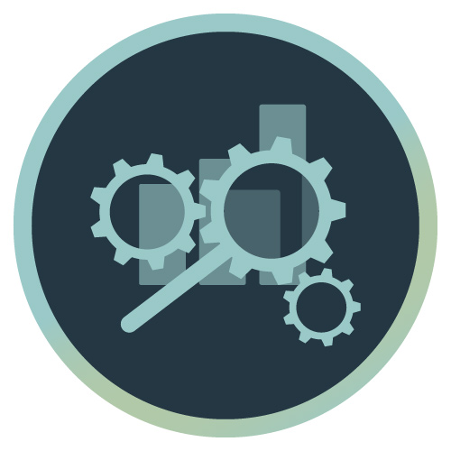 Icon für SEO - Suchmaschinenoptimierung