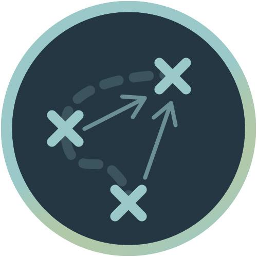 Icon für Strategie