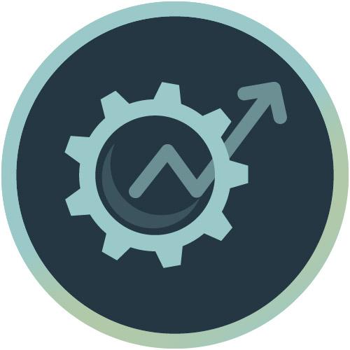 Icon für operative Umsetzung im Online Marketing