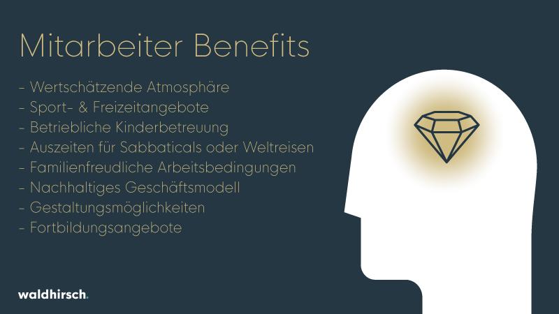 Grafik zu Mitarbeiter Benefits