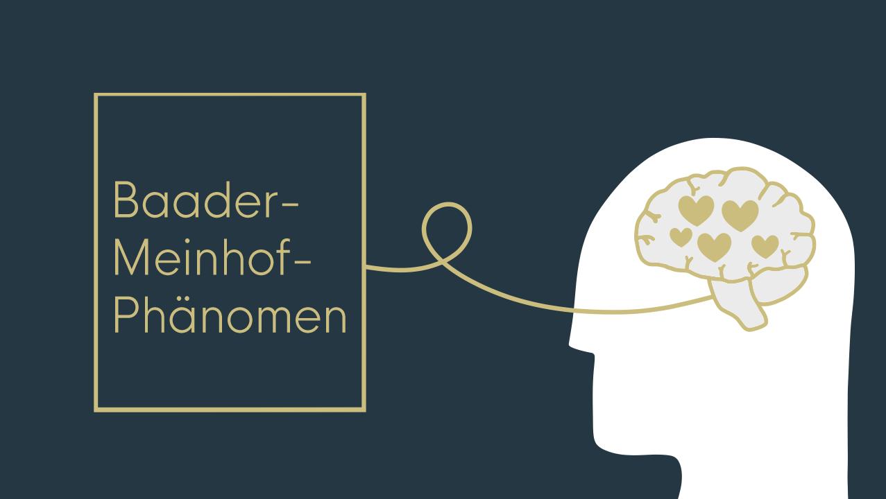 Beitragsbild Baader-Meinhof-Phänomen