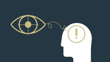 Beitragsbild zum Thema Eye-Tracking auf Websites