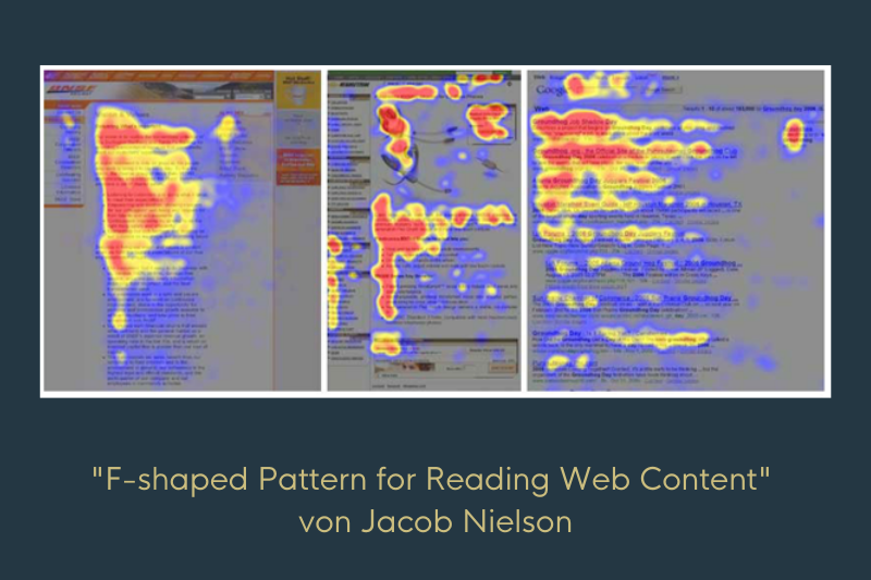 Foto aus einer Eye-Tracking Analyse von Jacob Nielson