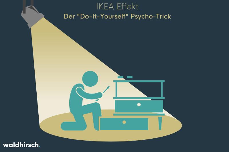 Beitragsgrafik zum Thema IKEA Effekt